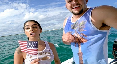 Bangbros Clips Vanessa Sky in Cuban Hottie Gets Rescued at Sea 380x210