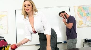 Naughtyamerica - My First Sex Teacher Julia Ann & Lucas Frost 364x204
