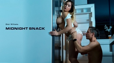 Babes.com - Midnight Snack with Blair Williams & Mick Blue 380x210