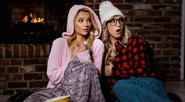 Realitykings - Baby Its Cold Outside with Bailey Brooke & Riley Star - We Live Together 380x210