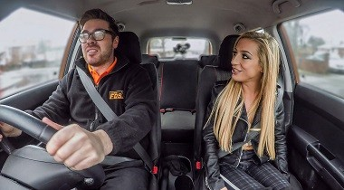 Fakedrivingschool.com - Lesson ends with hot tight anal sex by Ryan Ryder & Skyler Mckay 380x210