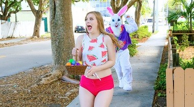 Mofos.com - Stealing from the Easter Bunny's Basket with Dolly Leigh - Stranded Teens 380x210