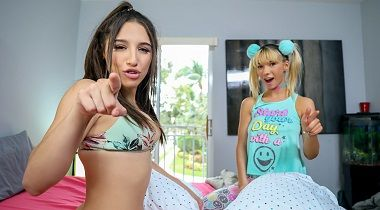 Mofos.com - A Sneaky Threesome Situation with Abella Danger & Kenzie Reeves - Share My BF 380x210