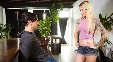 Naughtyamerica hd - Ryan Driller & Sammie Six My Wife's Hot Friend 380x210