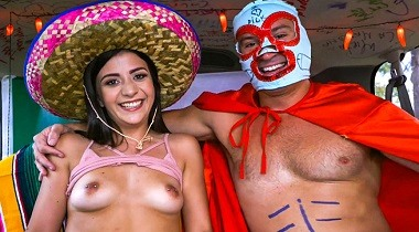 Bangbros - BangBus Celebrates Cinco De Mayo 2018 by Sean Lawless & Natalie Brooks 380x210