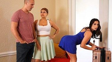 Brazzers hd - Sex With Her Bestie's Boyfriend Ashley Adams & Sean Lawless - Big Butts Like It Big 380x210