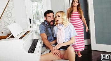 Realitykings - Sneaky Piano Slut with Charles Dera & Kenzie Kai - Sneaky Sex 380x210