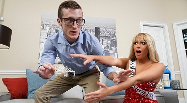 Brazzers Exxtra - The Pageant Queen Athena Palomino & Brick Danger 380x210