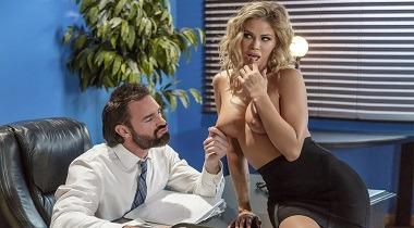 Brazzers hd - Big Tits At Work - Scanner Scandal with Jessa Rhodes & Charles Dera 380x210
