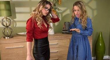 Brazzers.com - Hot And Mean - Ladies In Leather Kristen Scott & Lilly Ford 380x210